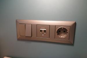 Zimmer mit Dusche 9/Gemeinschaftsbad socket